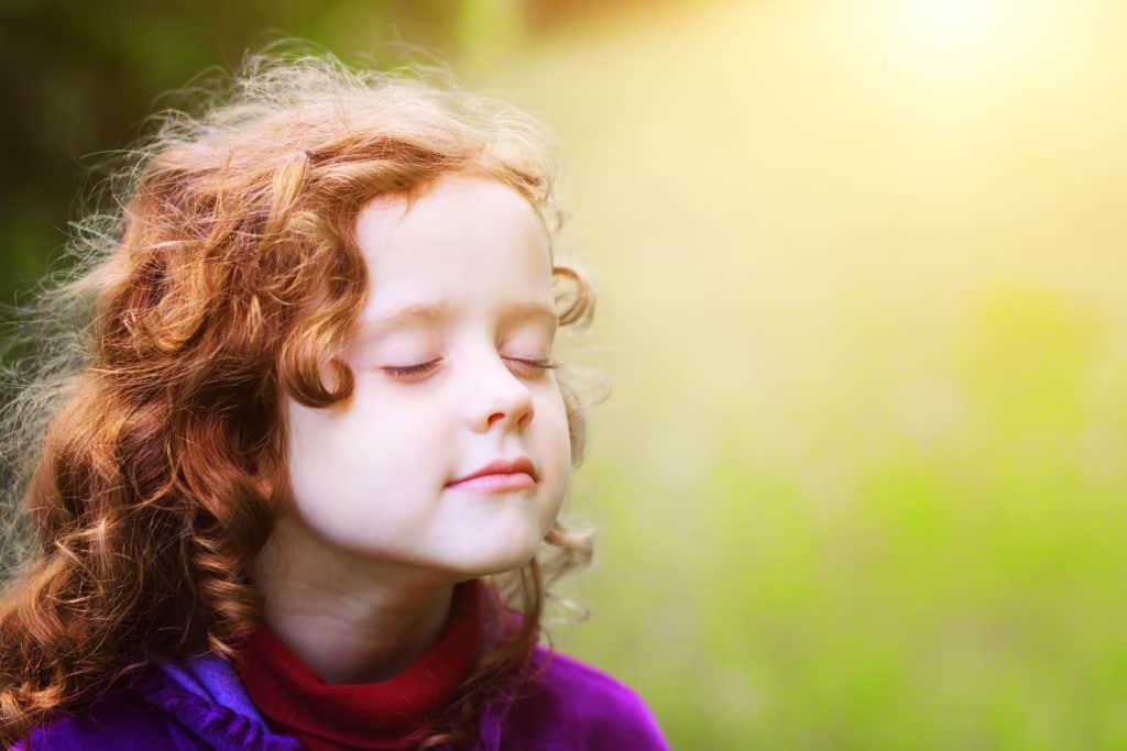 wellness orthodontics happy peaceful child