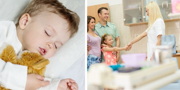 wellness ortho sleeping child meet the doc